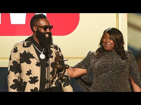 James Harden Wins MVP - Most Valuable Player Award - 2018 NBA Awards