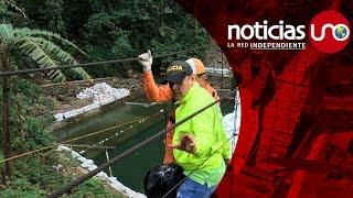 بالفيديو والصور.. مصرع وإصابة 23 شخصا في انهيار جسر معلق بكولومبيا
