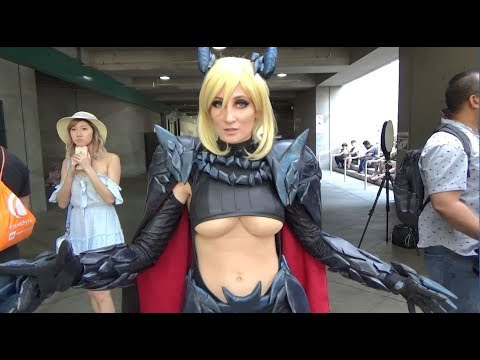 Anime Expo 2018 Cosplay Music Video Part 17