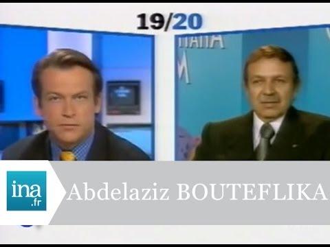 """Abdelaziz Bouteflika """"J'ai l'intention d'aller devant le peuple algérien""""  - Archive INA"""
