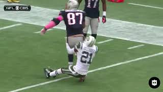 ROB GRONKOWSKI'S UNSTOPPABLE RUNS AFTER THE CATCH