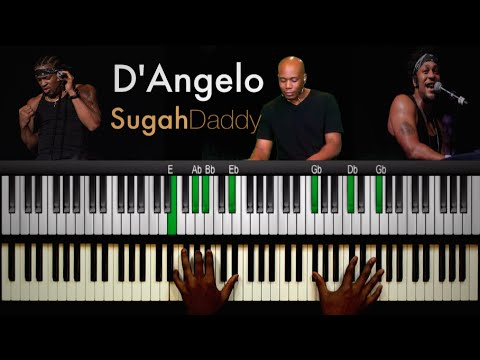 "Piano piano chords instrumental : D'Angelo - ""Sugah (Sugar) Daddy"" Instrumental (Piano Edition ..."