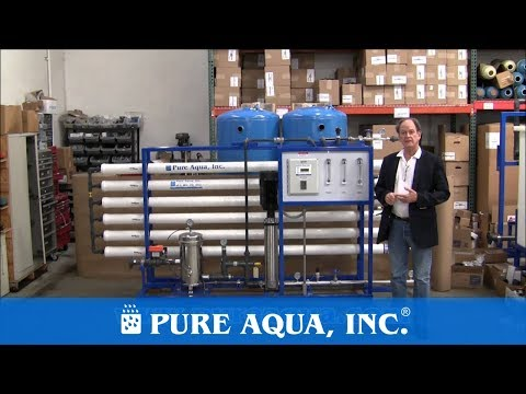 Nano Filtration System Australia 27,000 GPD | www.PureAqua.com