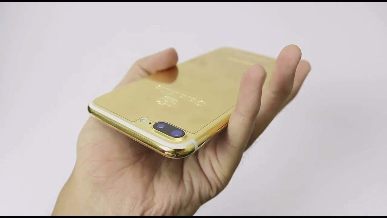 24k gold iphone 7 case