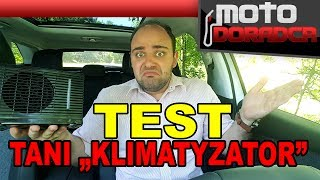 """Test taniego """"klimatyzatora"""" - czy to działa?! #MOTODORADCA"""