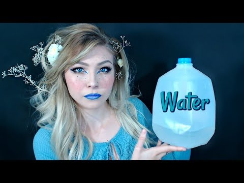 ASMR~Water, Jug, Tapping Sounds & INAUDIBLE Whispers/Gibberish