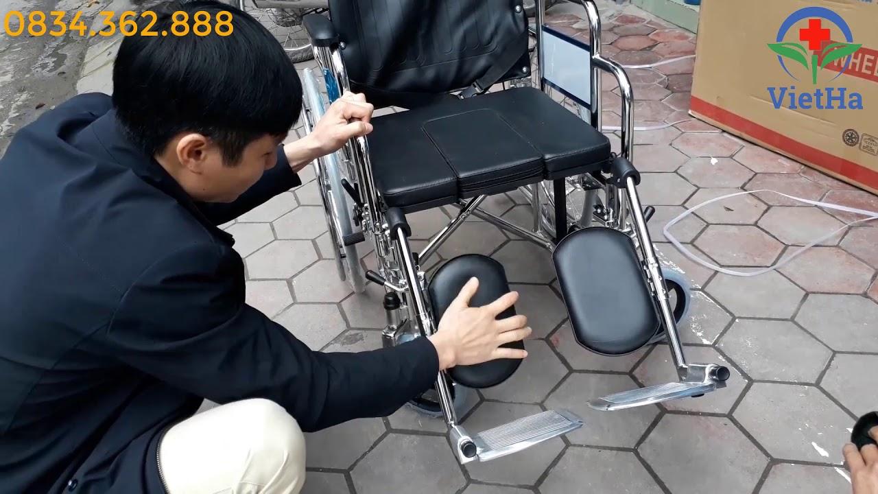 Xe lăn ghế ngả có bô lucass X7