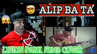 ALIP BA TA Numb Linkin Park (Fingerstyle) cover #Alipers - Producer Reaction