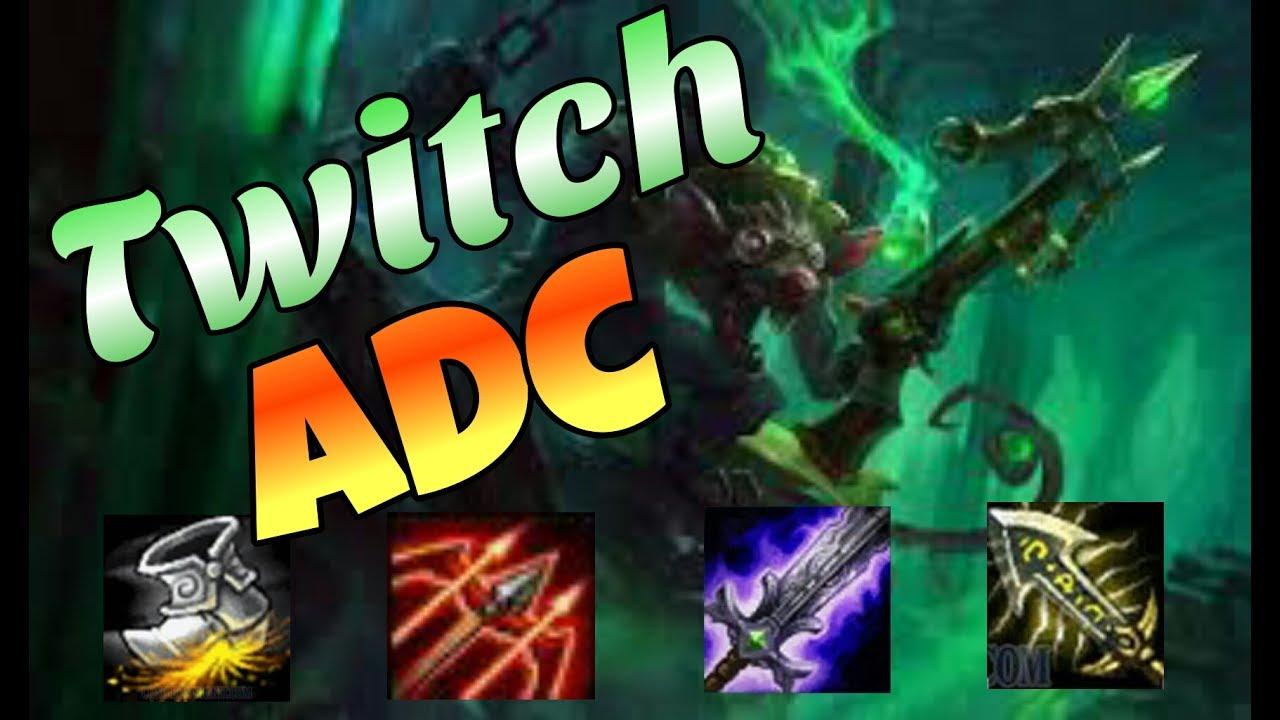 Twitch ADC | Cầm Twitch Vào Xếp Hạng Tui Tuyên Bố Ko Cần Farm Mà Chỉ Cần  Mạng Thôi Nhé | LMHT