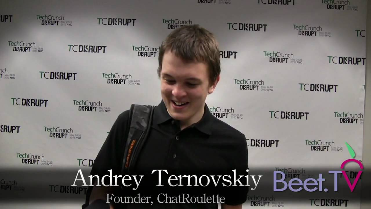 Andrey Ternovskiy, Chatroulette's Russian Teen Creator: