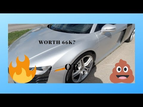 """Review:2008 Audi R8 """"Is it worth 66k""""?"""