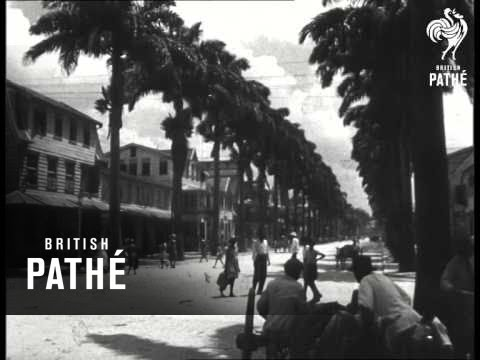 Paramaribo - Capital Of Dutch Guiana (1948)