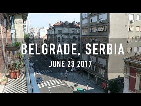 UPDATE FROM BELGRADE, SERBIA!!