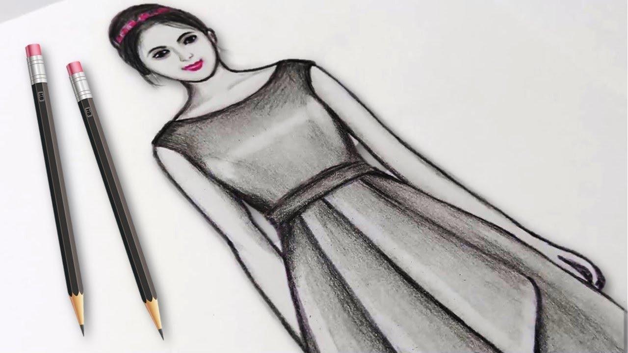 Simple drawings step by step | easy drawings for beginners ...