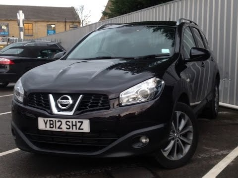 2012 nissan qashqai+2 1.5 dci 110 tekna 5dr in nightshade purple