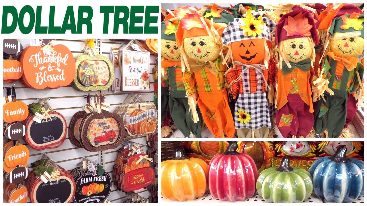 DOLLAR TREE FALL DECOR 12  NEW BRAND NAME ITEMS  FIVE BELOW BRUSHES