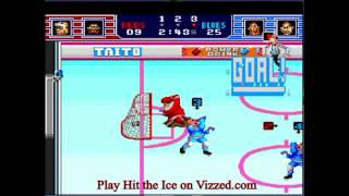 Hit the Ice - VHL the Official Video Hoc - Hit the Ice - Vizzed.com- Summer Tourney Week 3 - Za Shinigami vs Team Sea Slug - pt 2 - User video