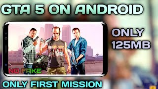 GTA 5 On Android |How to Play GTA 5 First Mission Game On Android |Brave Steel Gamer |2020