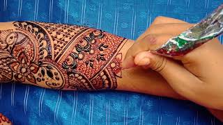Beautiful Bridal Mehndi Design for Full Hand   Latest Weddind Henna Design With Images