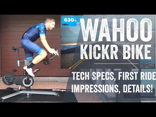 Wahoo KICKR Bike: Hands-on Details // First Ride Impressions