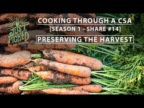 Just Picked, Episode 14: Preserving the harvest