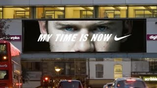NIKE MY TIME IS NOW DYNAMIC  INTERACTIVE DIGITAL OUT OF HOME CAMPAIGN