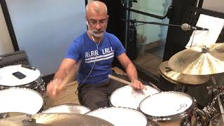 Fast Bossa Nova Drums And Solo