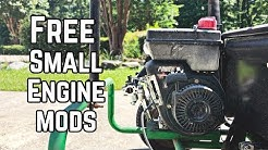 FREE Mods to Boost Small Engine Horsepower! Pt. 1