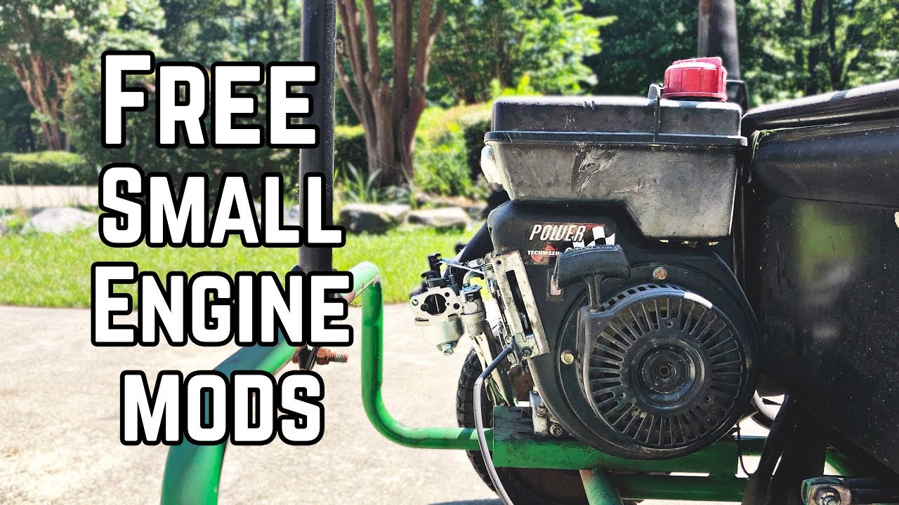 FREE Mods to Boost Small Engine Horsepower! Pt  1