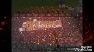 How To Make Automatic Cobblestone Generator/Farm In Mcpe 0.15.1+