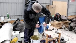 Кормоизмельчитель ЗУБР против зернодробилки из пылесоса от канала Не58 (Пенза)