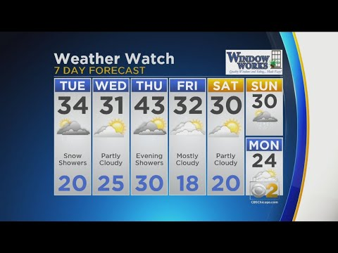 CBS 2 Weather Watch (11AM, Feb. 12, 2019) – Chicago Alerts