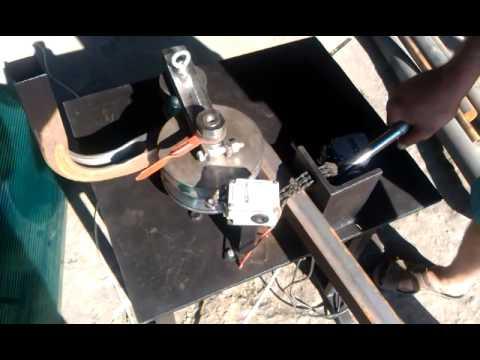 Гибка профильной трубы 40х40х1,5 мм