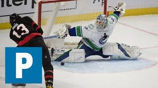 Braden Holtby on Canucks 2-1 loss to Ottawa Senators   The Province