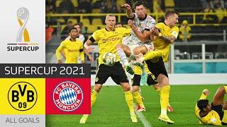 Lewandowski Brace against BVB Borussia Dortmund FC Bayern München 1 3 All Goals DFL Supercup
