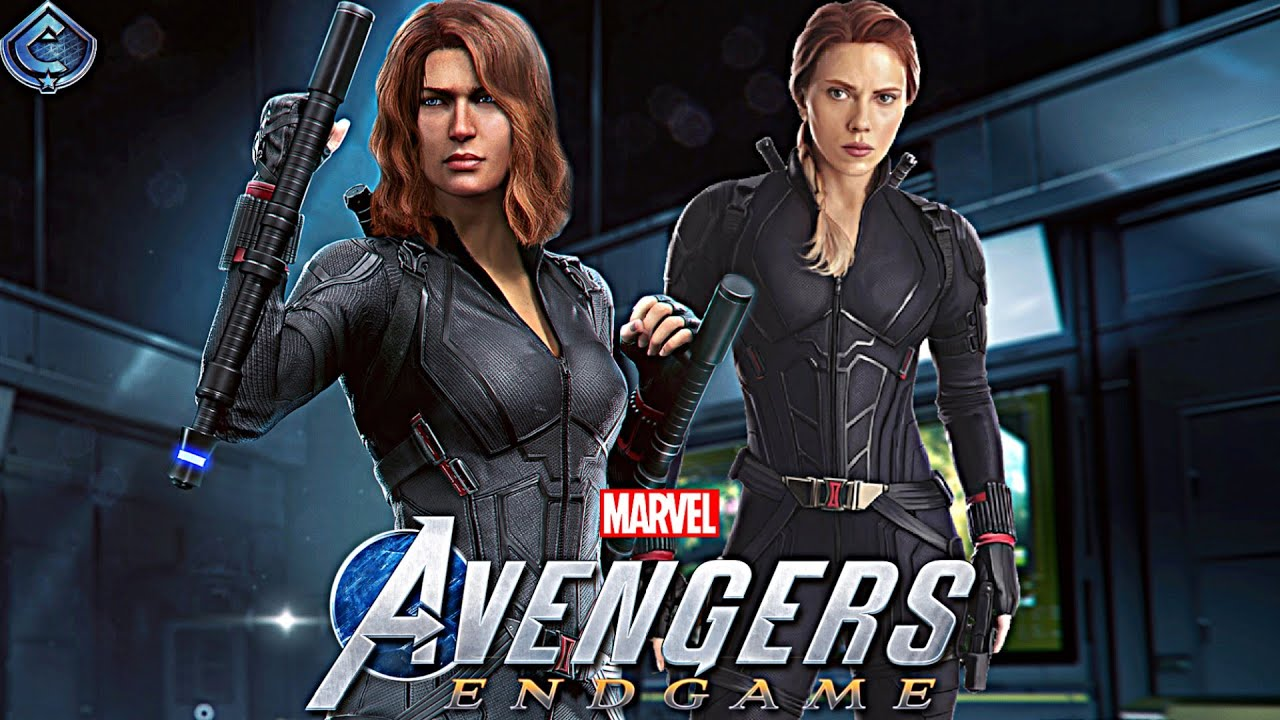 Marvel's Avengers Game - MCU Black Widow Movie Suit Free Roam Gameplay!