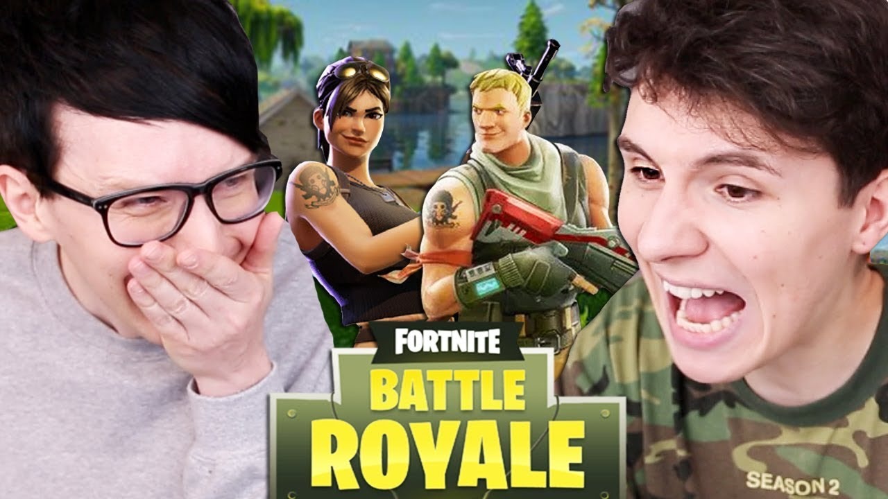Can Dan And Phil Survive Fortnite Youtube