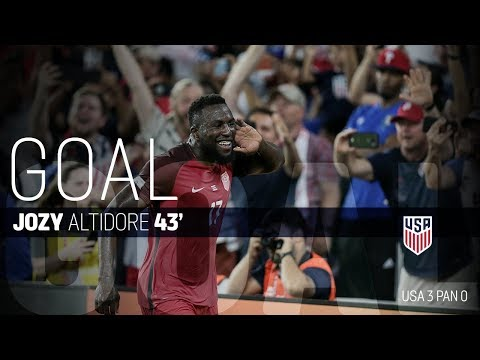 MNT vs. Panama: Jozy Altidore's Second Goal - Oct. 6, 2017