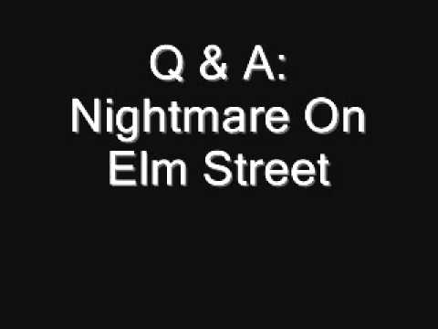 Q & A: Nightmare On Elm Street