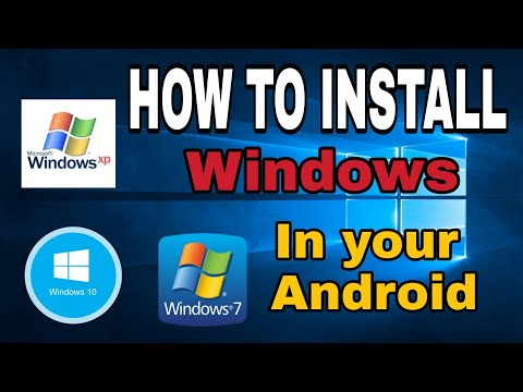 HOW TO RUN *//*WINDOWS XP,7,10 *\\*  IN YOUR ANDROID DEVICE
