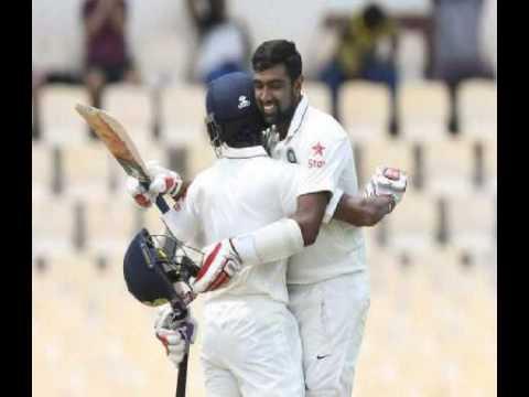 Live Cricket Score India Vs West Indies 3rd Test, St Lucia  Ashwin, Saha Help India Post 353