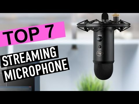 BEST MICROPHONES FOR STREAMING! (2020)