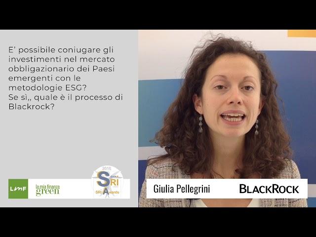 Giulia Pellegrini (Blackrock) - Salone SRI 2018