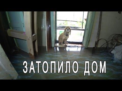 Ливень Краснодар Яблоновский ⛈️. Затопило дом Мики ...