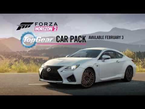 Forza Horizon 2 - Top Gear Car Pack Trailer