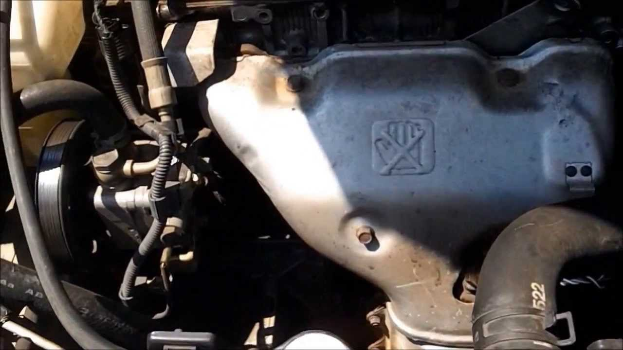 DIY 2001 MITSUBISHI GALANT 2.4L STARTER REPLACET - YouTube