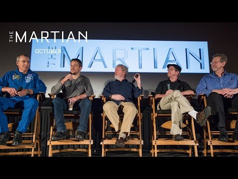 The Martian | NASA JPL Cast & Filmmaker Q&A Highlights [HD] | 20th Century FOX
