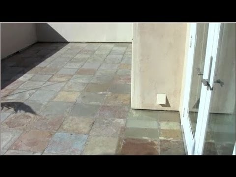Cleaning And Color Enhancing Slate Tile San Diego Stone Care Youtube