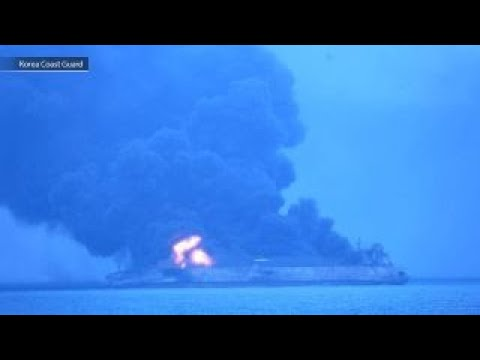 US Navy joins search for missing crew from Iranian tanker
