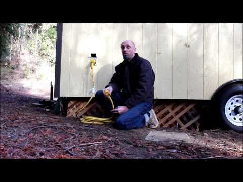 rv hook up extension cord